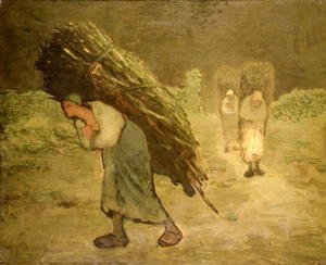 Jean-Francois Millet - Winter- The Faggot Gatherers, 1868-75