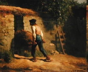 Peasant with a Wheelbarrow, 1848-5