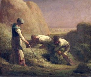 Jean-Francois Millet - The Hay Trussers, 1850-51