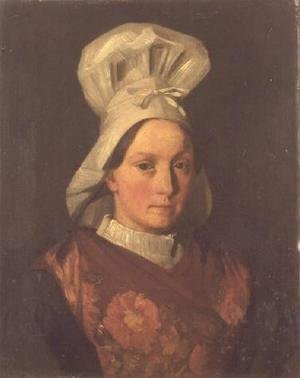Portrait of the artist's sister, Emily, c.1841-45