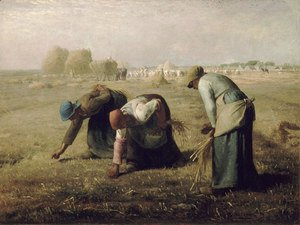 Jean-Francois Millet - The Gleaners, 1857