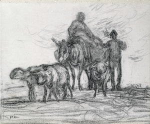 Jean-Francois Millet - Return from the Fields, 1873