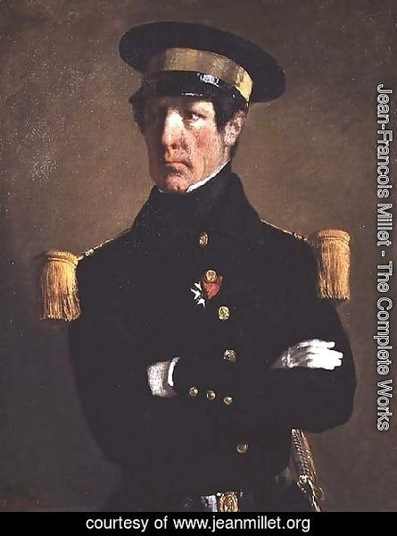 Portrait of a Naval Officer, 1845