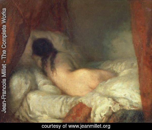 Reclining Female Nude, c.1844-45