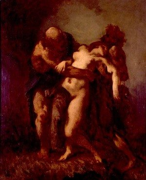 Jean-Francois Millet - Susanna and the Elders, c.1846-49