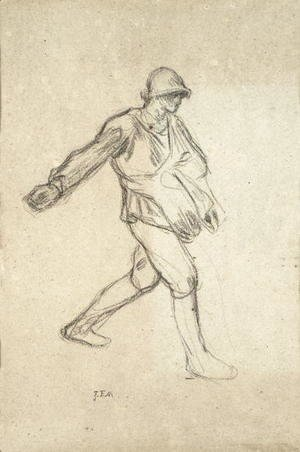 Study for 'The Sower'