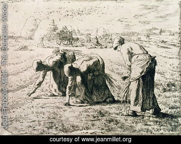 The Gleaners, 1855