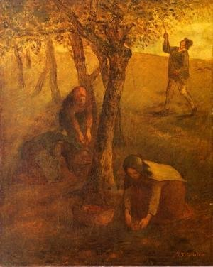 Jean-Francois Millet - Gathering Apples