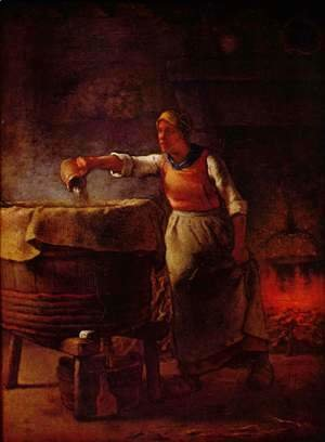 Jean-Francois Millet - Laundress