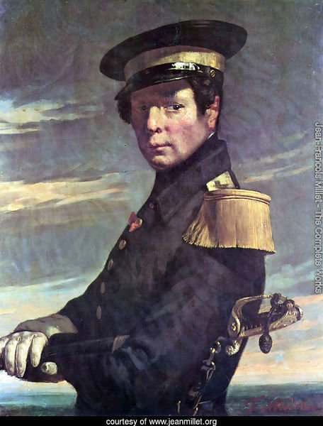 Portrait of a Marine officer