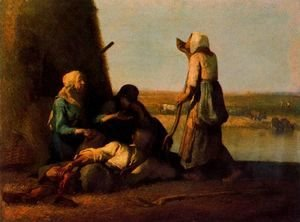 Jean-Francois Millet - The rest of the farmers