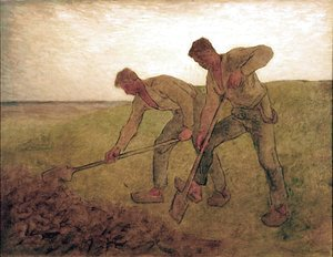 Jean-Francois Millet - The Diggers
