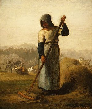 Jean-Francois Millet - Woman With A Rake
